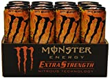 Monster Extra Strength Energy Drink, Anti-Gravity, 12 Ounce (Pack of 12)