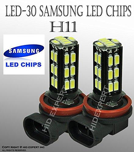 JDM LED H11 18 SMD Super Xenon White Fog Light ONLY Bulbs Free Shipping U.S. (2015 Kia Optima Led Fog Lights compare prices)
