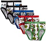 Nickelodeon Little Boys Teenage Mutant Ninja Turtles Underwear, 5-Pack