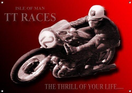 isle-of-man-tt-races-motorrad-blechschild