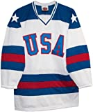 USA 1980 Olympic Miracle on Ice Home White Hockey Jersey (Adult Sizes)