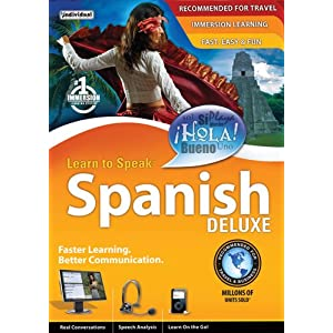 Learn to Speak Spanish Deluxe [Download] $17.99