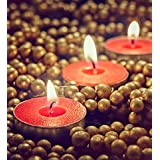 Orlando's Decor Candles Red T Light Candles Set Of 50 T-lights