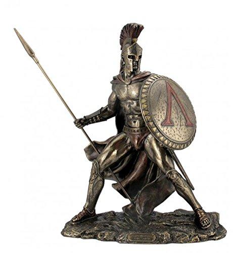 leonidas-with-shield-and-spear-figurine-bronzed-feldherr-spartan-by-veronese
