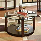 Coronado Round Coffee Table in Cherry