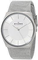 Skagen Men's SKW6067 Havene Quartz 3 Hand Stainless Steel Silver Watch from Skagen