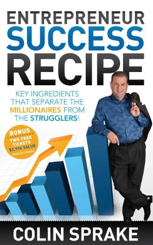 Entrepreneur Success Recipe: Key ingredients