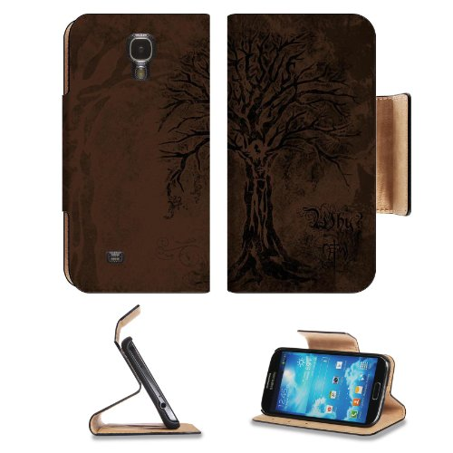 Lord Jesus On Tree Samsung Galaxy S4 Flip Cover Case With Card Holder Customized Made To Order Support Ready Premium Deluxe Pu Leather 5 1/2 Inch (140Mm) X 3 1/4 Inch (80Mm) X 9/16 Inch (14Mm) Msd S Iv S 4 Professional Cases Accessories Open Camera Headph