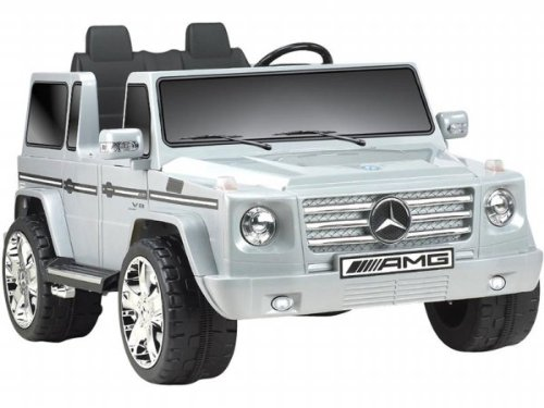 Big Toys Npl-0592 Mercedes Benz G55 Truck 12V In Gray