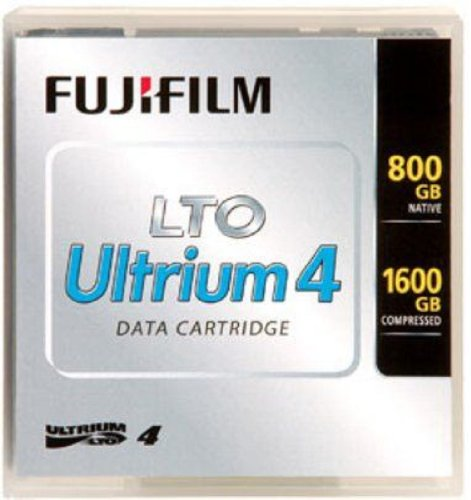 Fuji Film USA 1PK LTO4 800GB/1600GB TAPE SUPL CARTRIDGE PLAIN