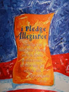 I Pledge Allegiance Garden Flag