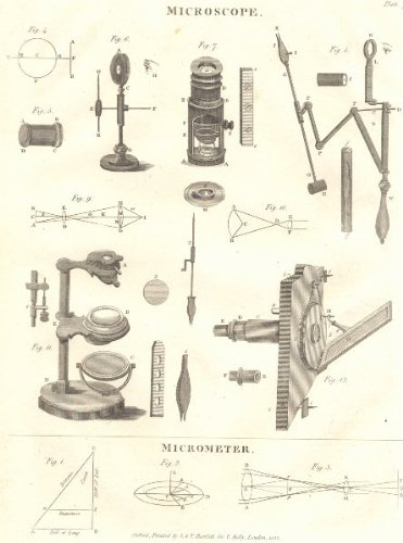 Scientific Instruments: Microscope; Micrometer. (Oxford Encyclopaedia);1830