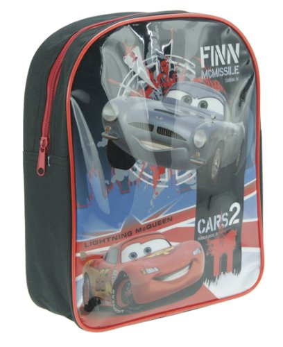 Imagen principal de Trade Mark Collections Disney Cars 2 - Mochila escolar (30 x 25 x 8 cm)