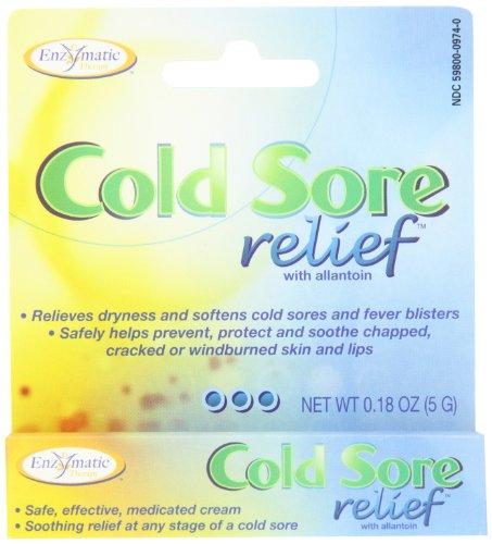 Thérapie enzymatique - Relief Cold Sore, 0,18 oz