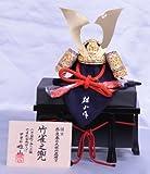 【新作】【五月人形】兜単品飾り【雄山】竹雀兜【10号】櫃付き単品k20【兜飾り】