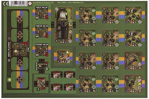 Heroes of Normandie - US Platoon Board Game