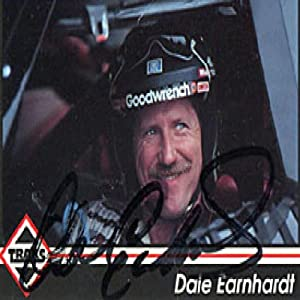 Dale Earnhardt Autographed Signed 1992 Traks No.103 Racing Card by Hollywood Collectibles