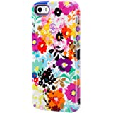 Speck Products CandyShell Inked Case for iPhone 5/5s - Bold Blossoms White/Revolution Purple