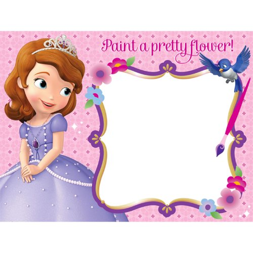Disney Junior Sofia the First Watercolor Paint Boards (4) - 1