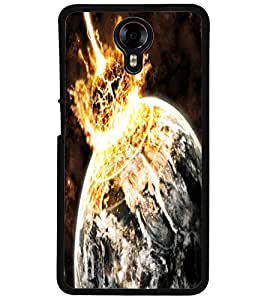 ColourCraft The Galaxy Design Back Case Cover for MICROMAX CANVAS XPRESS 2 E313