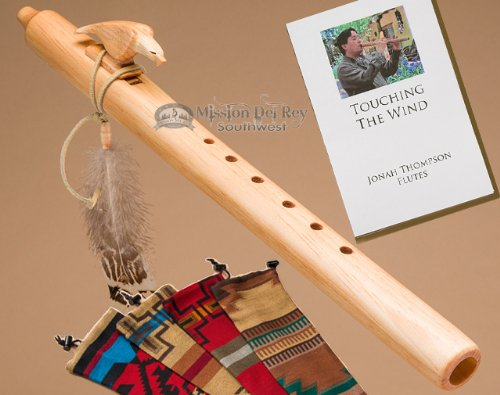 Native American Flute Pack -Natural Eagle & Bag