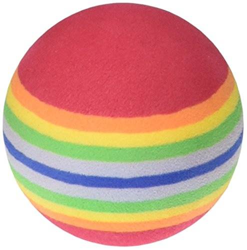 Image Pioneer Pet Toy Box Balls for Cat Colors may vary, 3 Count