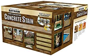 Rust-Oleum 239414A Concrete Stains Kit, Sandstone Color Hues