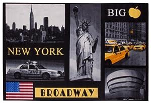 Andiamo 1100333 Tapis Motif Ville De New York 120 X 170 Cm
