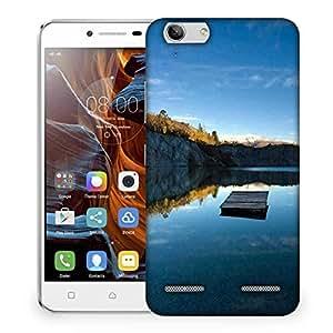 Snoogg Plain Boat Designer Protective Phone Back Case Cover For Lenovo K5 Vibe
