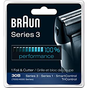 Braun Series 3 Combi 30b Foil And Cutter Replacement Pack (7000/4000 Series)