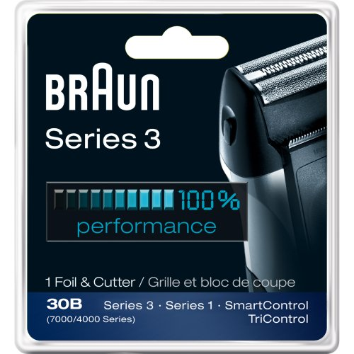Braun Series 3 Combi 30B Foil And Cutter Replacement Pack (7000/4000 Series) front-834486