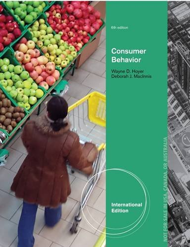 Consumer Behavior (International Edition)