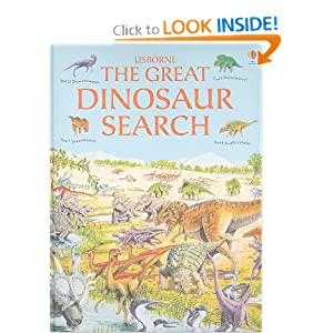 The Great Dinosaur Search (Great Searches)