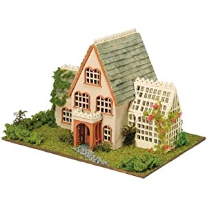 Dollhouse Miniature 1/144 Scale Hampton House Kit