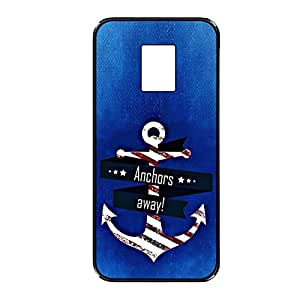 Vibhar printed case back cover for Samsung Galaxy Note 4 AnchorsAway