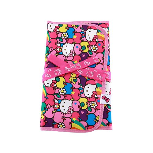 Ju-Ju-Be Hello Kitty Collection Memory Foam Changing Pad, Lucky Stars