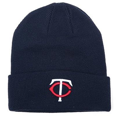 Minnesota Twins Blue Beanie Hat - MLB Cuffed Knit Toque Cap
