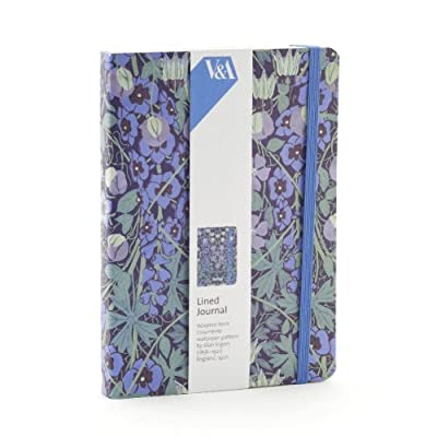 V&A Columbine Lined Journal