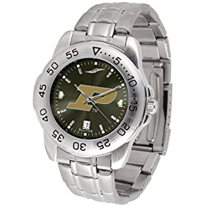 Purdue Boilermakers NCAA AnoChrome Sport Mens Watch (Metal Band) by SunTime