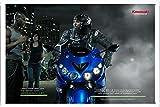 カワサキ・ZZR1400:リッキーGadsonキャンペーン、1の金属看板 ティンサイン ポスター / Tin Sign Metal Poster of Kawasaki Ninja Zx-14: Rickey Gadson Campaign, 1