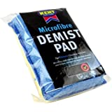 KENT CAR DEMISTER PAD WINDSCREEN WINDOW MIRROR GLASS FOG CLEANING DEMIST