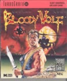 Bloody Wolf TurboGrafx 16 Cartridge