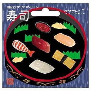 ミドリ OJ ミニマグネット(6個入) 寿司