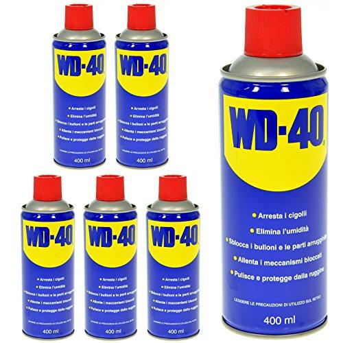 LUBRIFICANTE-WD-40-400-ML-6-PZ-SPRAY-MULTIFUNZIONE-SBLOCCANTE-DETERGENTE