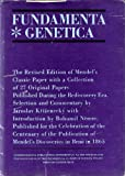 img - for Fundamenta genetica: The revised edition of Mendels classic paper with a collection of 27 original papers published during the rediscovery era book / textbook / text book