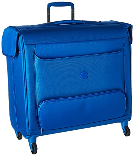 Delsey Luggage Chatillon Spinner Trolley Garment Bag, Blue (Rolling Garment Bag Luggage compare prices)