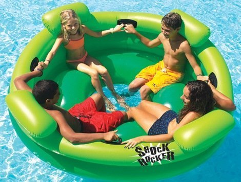 Inflatable Shock Rocker 4-Kid Pool Float by Swimline online bestellen