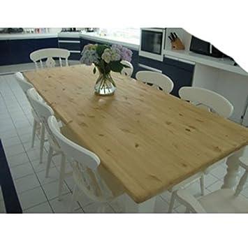 Painted 7'x3' pine farmhouse table