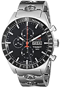 Amazon.com: Tissot Men's T0446142105100 T-Sport PRS516 Automatic Black