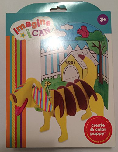 "Manhattan Toy ""Imagine I Can..."" Create & Color Puppy Kit"